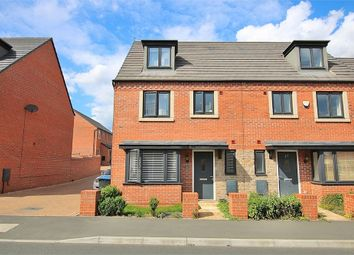 Thumbnail 4 bed end terrace house for sale in Balmoral Close, Marina Gardens, Northampton