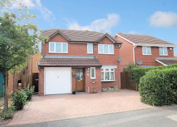 Thumbnail 4 bed detached house for sale in Westmorland Close, Fazeley, Tamworth