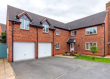 Thumbnail 5 bed detached house for sale in Hewitt Close, Fradley, Lichfield, 8Ta
