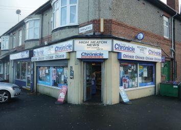 Thumbnail Retail premises for sale in High Heaton News, 26 Benton Road, High Heaton