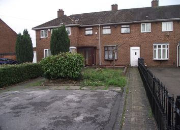 Thumbnail 3 bed terraced house to rent in Coneyford Road, Shard End, Birmingham