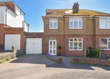 Thumbnail 4 bed semi-detached house for sale in Segrave Road, Folkestone