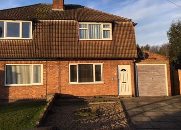 Thumbnail 2 bed semi-detached house to rent in Martin Avenue, Oadby, Leicester