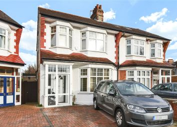 Thumbnail 4 bed semi-detached house for sale in Hazelwood Crescent, Palmers Green, London