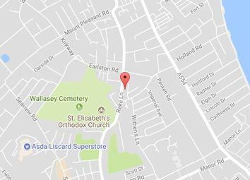 Thumbnail Studio to rent in Flat 2, 130 Rake Lane, Wallasey, Wirral