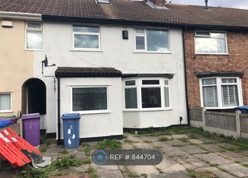 Thumbnail 3 bed terraced house to rent in Prestbury Road, Liverpool
