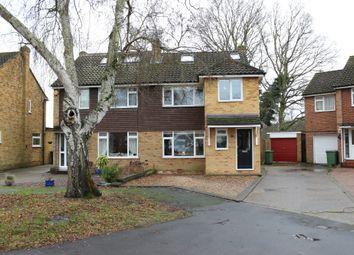 Thumbnail 4 bed semi-detached house for sale in Fullerton Way, Byfleet, West Byfleet