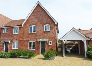 Thumbnail 3 bed semi-detached house for sale in Hawksley Crescent, Hailsham