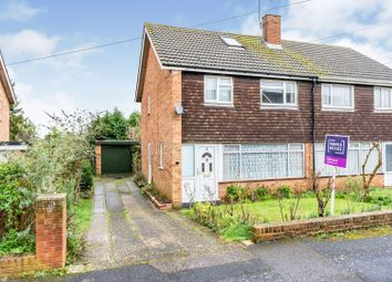 Thumbnail 3 bed semi-detached house for sale in Wren Close, Larkfield, Aylesford