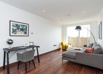 Thumbnail 3 bed flat to rent in Beaufort Court, West Hampstead, London