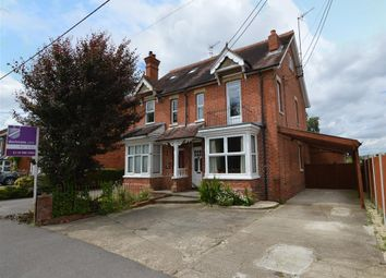 Thumbnail 4 bedroom semi-detached house for sale in Church Lane, Three Mile Cross, Reading