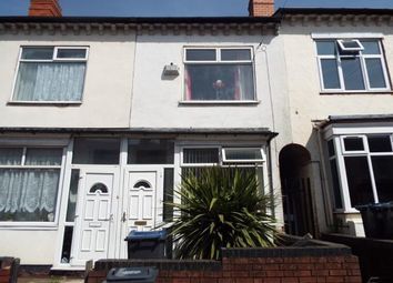 Thumbnail 2 bed terraced house for sale in Third Avenue, Bordesley Green, Birmingham, West Midlands
