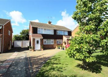 Thumbnail 3 bed semi-detached house for sale in Harman Drive, Sidcup, Kent