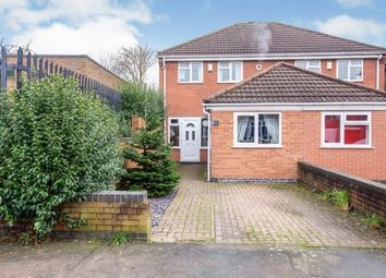 Thumbnail 4 bedroom semi-detached house for sale in Stonehill Avenue, Birstall, Leicester, Leicestershire