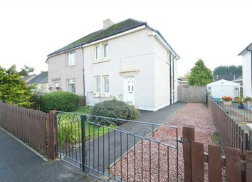 Thumbnail 3 bedroom semi-detached house for sale in Kings Drive, Motherwell