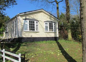 Thumbnail 3 bed mobile/park home for sale in Upper Holton, Halesworth