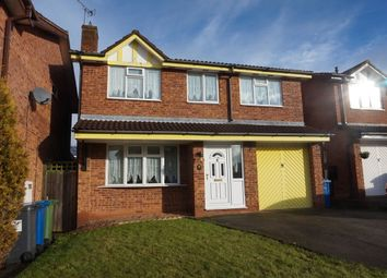 Thumbnail 4 bed detached house for sale in Cleeve, Glascote, Tamworth