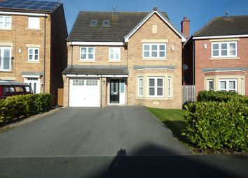 Thumbnail 6 bedroom detached house for sale in Sandringham Meadows, Blyth