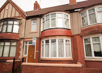 Thumbnail 3 bed terraced house for sale in Colwyn Road, Hartlepool