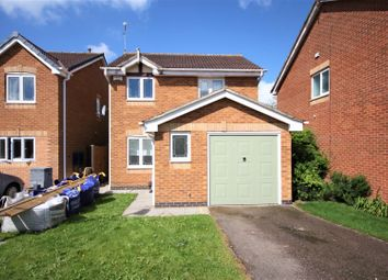 Thumbnail 3 bed detached house for sale in Kemp Road, Coalville