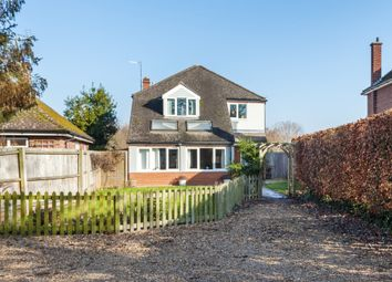 Thumbnail 4 bed detached house for sale in Hauxton Road, Little Shelford, Cambridge