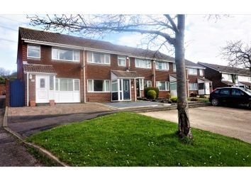 Thumbnail 3 bed end terrace house for sale in Waltham Close, Fareham