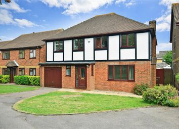 Thumbnail 4 bedroom detached house for sale in Darland Avenue, Darland, Gillingham, Kent