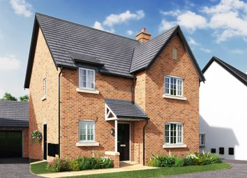 Thumbnail 4 bedroom detached house for sale in St Georges Fields, Wootton, Northampton