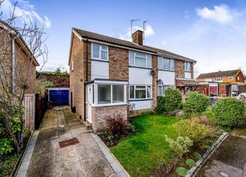Thumbnail 3 bedroom semi-detached house for sale in Nightingale Avenue, Bedford, Bedfordshire, .