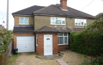 Thumbnail 4 bedroom semi-detached house to rent in Meadow Road, Earley, Reading