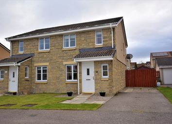 Thumbnail 3 bed semi-detached house for sale in Dellness Way, Inverness