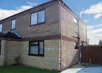 Thumbnail 1 bed flat to rent in Malvern Close, North Hykeham, Lincoln
