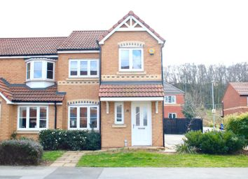 Thumbnail 3 bed town house for sale in Scrooby Close, Harworth, Doncaster