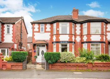 Thumbnail 3 bed property to rent in Burnage Hall Road, Manchester