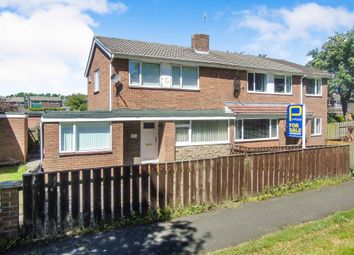 Thumbnail 3 bed semi-detached house for sale in Bryans Leap, Burnopfield, Newcastle Upon Tyne