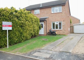 Thumbnail 2 bed semi-detached house for sale in Horton Close, Alcester