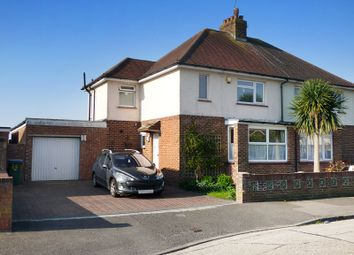Thumbnail 3 bed semi-detached house for sale in Gosden Road, Littlehampton