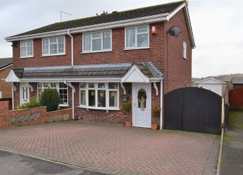 Thumbnail 3 bed semi-detached house for sale in Hareshaw Grove, Stoke-On-Trent