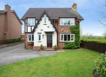 Thumbnail 4 bed detached house for sale in Langton Court, Werrington, Stoke-On-Trent
