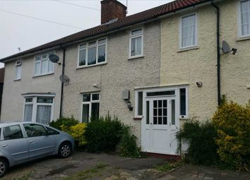 Thumbnail 3 bed terraced house to rent in Gervase Road, Burnt Oak, Edgware