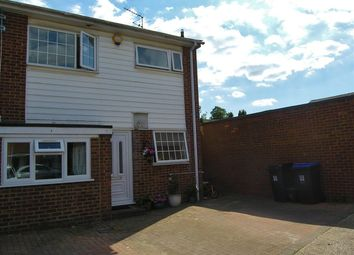 Thumbnail 3 bed end terrace house for sale in Powderham Court, Knaphill, Woking