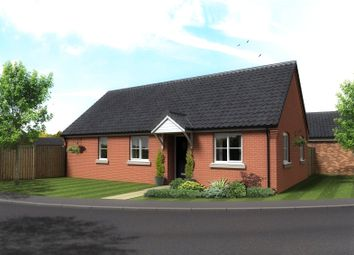 Thumbnail 3 bed detached bungalow for sale in Plot 1, The Cricketers, Holt Road, Horsford