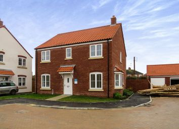 Thumbnail 4 bed detached house for sale in Moor Lane, Branston, Lincoln