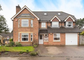 6 bed detached house for sale in Peninsular Close, Camberley GU15