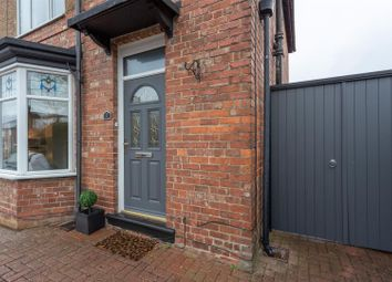 Thumbnail 3 bed semi-detached house for sale in Banklands Road, Darlington