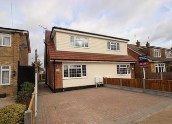 Thumbnail 3 bed semi-detached house to rent in Eversley Road, Benfleet, Essex