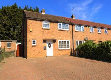 Thumbnail 3 bed semi-detached house for sale in Larch Crescent, Hayes, Middlesex