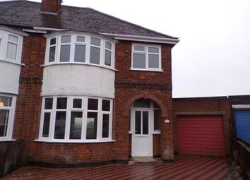 Thumbnail 3 bed semi-detached house for sale in Danehurst Avenue, Western Park, Leicester, Leicestershire