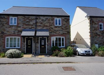 Thumbnail Semi-detached house for sale in Goonbarrow Meadow, Bugle, St. Austell