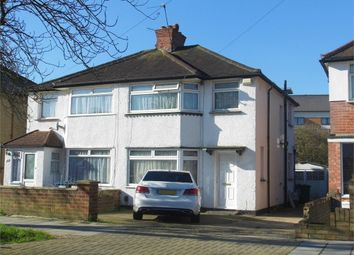 Thumbnail 4 bed semi-detached house to rent in Twyford Road, Harrow, Middlesex